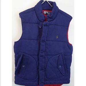 Polo Ralph Lauren Quilted Cotton Blend Vest NWT